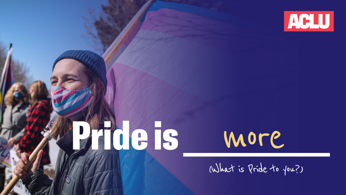 Pride is more graphic