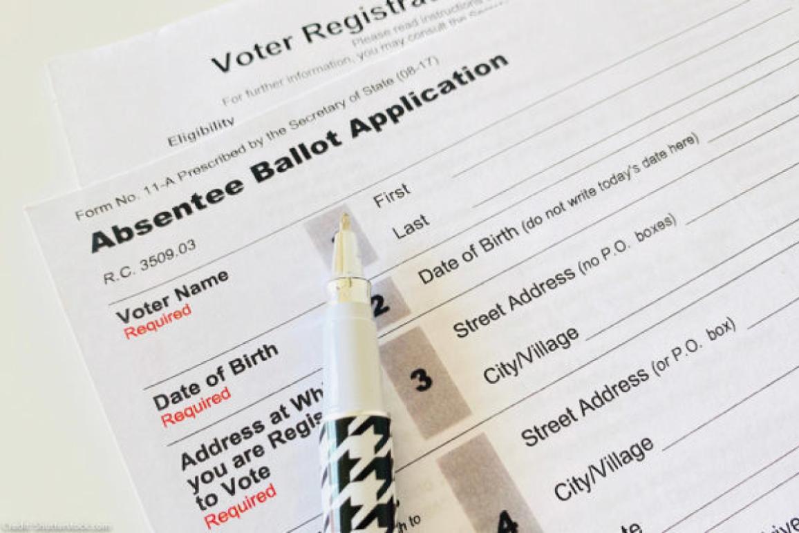 Absentee voter