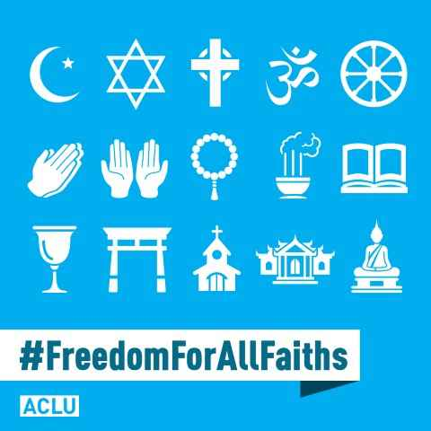 Freedom for all faiths