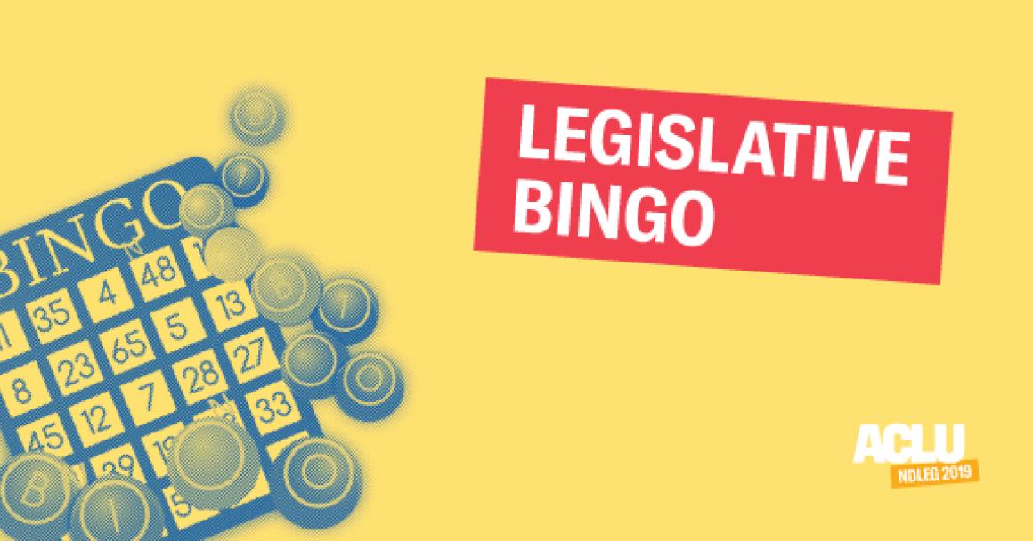 Legislative Bingo, PNG web slider